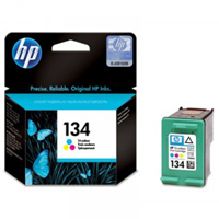 Картридж HP Deskjet 5743/DJ6843/DJ6543/ PS2613 #134 Color (o) 14ml